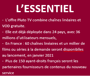Exclusif Npa Pluto Tv Viacomcbs Lance En France Des Janvier 2021 Insight Npa